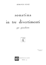 Sonatina in 3 divertimenti