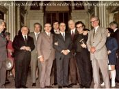 Armando Renzi with Salvatori, Miserachs and other singers of the Giulia Chapel